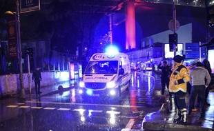 Une «attaque terroriste» à main armée a fait au moins 35 morts et 40 blessés dans une boîte de nuit d'Istanbul, lors du réveillon, le 1er janvier 2017.