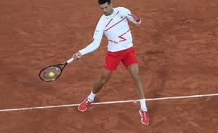 Djokovic s'est baladé contre Ymer lors du premier tour.