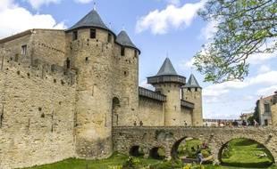 La Cité médiévale de Carcassonne.