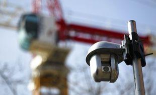 Une caméra de vidéosurveillance à Toulouse. Illustration.