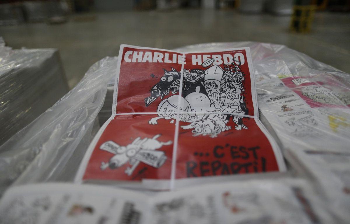 Le numéro 1179 de Charlie Hebdo.AFP PHOTO KENZO TRIBOUILLARD – AFP