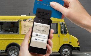 Amazon a lancé son lecteur de carte bancaire le 13 août 2014.
