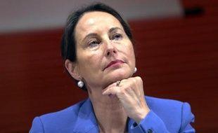 La ministre de l'Ecologie Ségolène Royal, le 15 octobre 2014 à Lyon, lors d'une conférence sur l'environnement