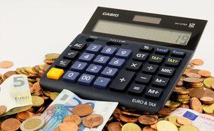 Une calculette (image d'illustration).