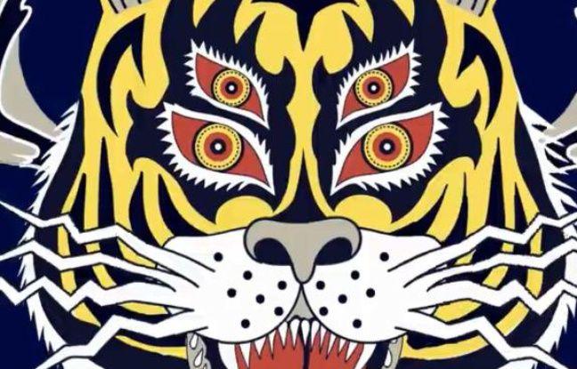 Visuel de la realease party du groupe Les Tigres du Futur