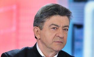 Jean-Luc Melenchon, député europeen. 22/02/2015. Credit:IBO/SIPA.