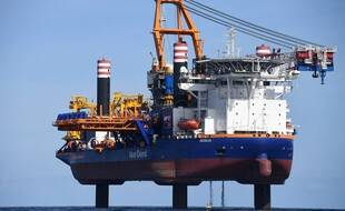 Le navire Aeolus chargé du forage du futur parc éolien offshore de Saint-Brieuc avait été à l'origine d'une pollution en mer le 14 juin 2021.