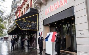 La dernière des six plaques commémoratives révélées est celle du Bataclan.