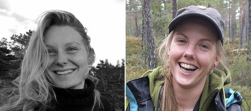 Louisa Vesterager Jespersen et Maren Uelan ont été tuées le 17 décembre 2018 au Maroc.
