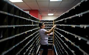 Une employée de bureau au Salvador (image d'illustration).