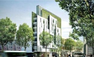 Une résidence étudiante porte de Vanves (1), des logements mixtes rue de Lourmel, dans le 15e (2), une crèche quai de la Charente, dans le 19e (3), et un quartier de la ZAC Clichy-Batignolles (4) comportant des appartements, des commerces et des jardins.