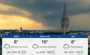 Météo Caen: Prévisions du samedi 27 avril 2019