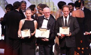 Emmanuelle Bercot, Jacques Audiard et Vincent Lindon, trois Français primés à Cannes