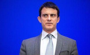 Le ministre de l'Intérieur Manuel Valls le 20 janvier 2014 à Paris.