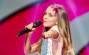 Angélina, candidate de la France à l'Eurovision Junior 2018.