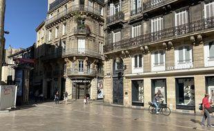 La place Saint-Projet à Bordeaux.