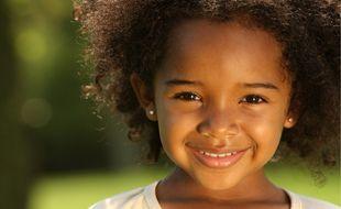 Illustration d'une enfant noire