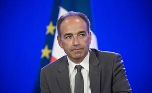 Jean-François Copé, le 24 avril2014 lors d'une conférence de presse àParis.