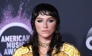 La chanteuse Kesha