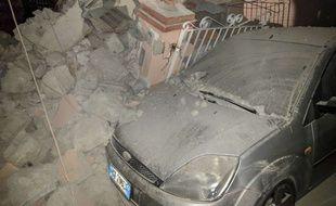 Un séisme sur l'île italienne d'Ischia a fait au moins un mort, le 21 août 2017.