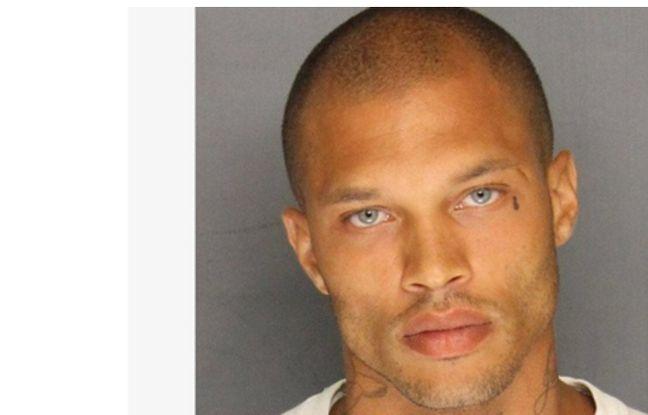 Capture d'écran Facebook de Jeremy Meeks, prisonnier américain qui crée une émeute
