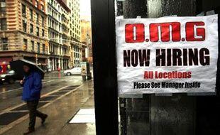 Les chiffres de l'emploi en janvier aux Etats-Unis dressent un tableau en demi-teinte du marché du travail avec un rebond décevant des nouvelles embauches même si le taux de chômage a légèrement reculé.