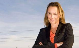 La députée des Français d'Europe du Nord, Axelle Lemaire, en 2012 à Londres.