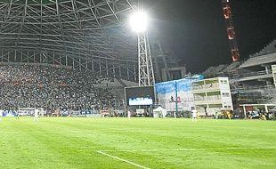 Le Stade-Vélodrome en travaux.