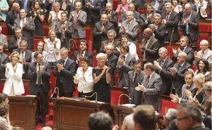 L'annonce de la libération des journalistes a été saluée par une standing ovation, hier à l'Assemblée.