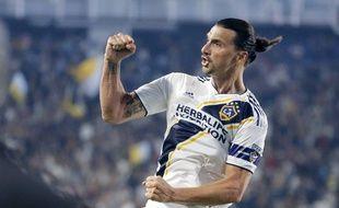Zlatan Ibrahimovic sous le maillot du Los Angeles Galaxy, le 7 juillet 2019.