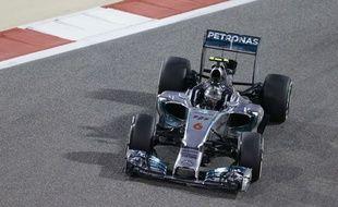 Nico Rosberg lors des qualifications du Grand Prix de Bahreïn le 5 avril 2014.