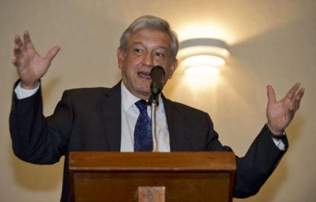 """Le candidat malheureux de la gauche à la présidentielle du 1er juillet au Mexique, Andres Manuel Lopez Obrador, a annoncé vendredi qu'il lançait une campagne pour défendre """"la dignité de la démocratie"""" et obtenir l'invalidation de l'élection, dont il conteste le résultat."""