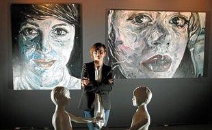 Valérie Lefebvre avait participé au salon avant d'ouvrir sa propre galerie.