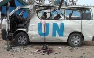 Un minibus de l'ONU a été la cible d'une attaque des islamistes shebab, faisant au moins six morts le 20 avril 2015, dans la ville de Garowe, au nord de la Somalie