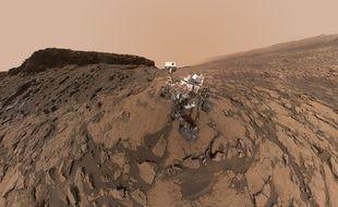 Un «selfie» pris par Curiosity en septembre.
