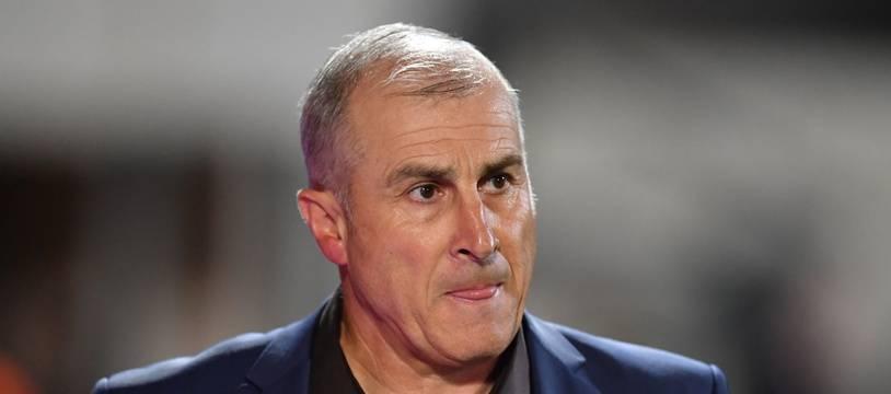 Alain Casanova, ici lors d'un match de Ligue 1 à Nîmes le 21 septembre 2019, n'est plus l'entraîneur du TFC.