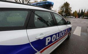 Strasbourg le 05 novembre 2014. Illustration. Une voiture de la police nationale.