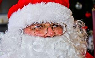 Le Père Noel a retrouvé sa plaque d'immatriculation