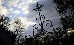 Le cimetière du père Lachaise à Paris, le 30 octobre 2014