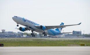 L'Airbus A330-300 de French Blue assure quatre liaisons par semaine entre Paris et Punta Cana (République dominicaine) à prix cassés.