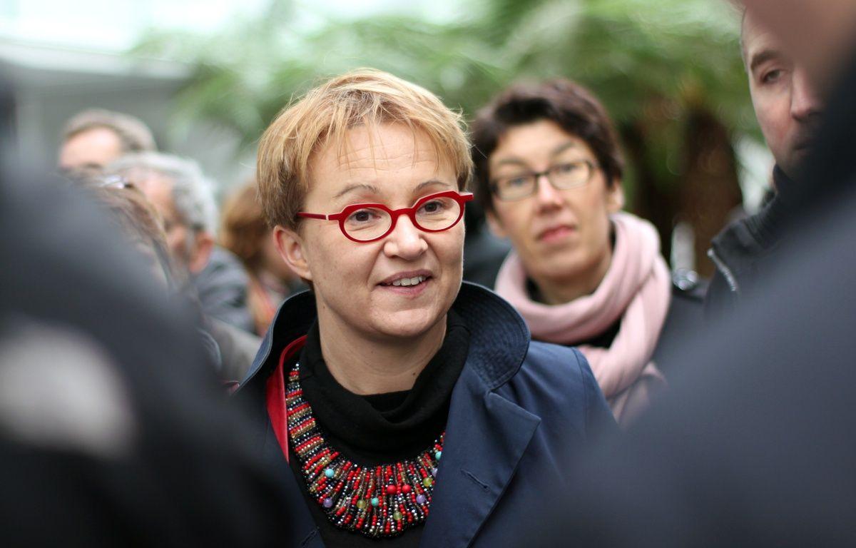 La maire de Rennes Nathalie Appéré, ici en mars 2016, en marge de la visite de la ministre du logement Emmanuelle Cosse. – C. Allain / APEI / 20 Minutes