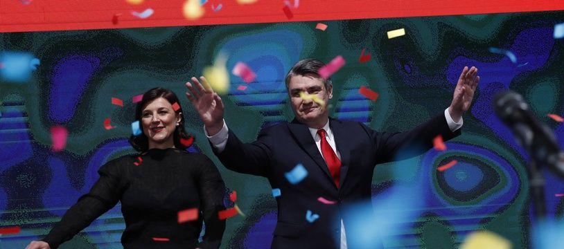 Zoran Milanovic a obtenu 52,73% des voix contre 47,27% à la présidente sortante