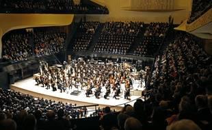 Inauguration de la Philharmonie de Paris le 14 janvier 2015