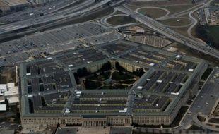 Vue aérienne du Pentagone, à Washington, le 13 février 2016