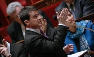 Le Premier ministre Manuel Valls, le 7 mai 2014 à Paris