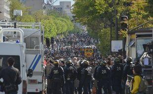 La manifestation du 1er Mai 2018 avait été émaillée de violences.