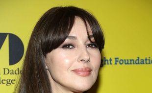 L'actrice Monica Bellucci à Miami, le 8 mars 2016.