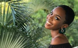 Anaëlle Guimbi, ex-candidate à l'élection de Miss Guadeloupe.