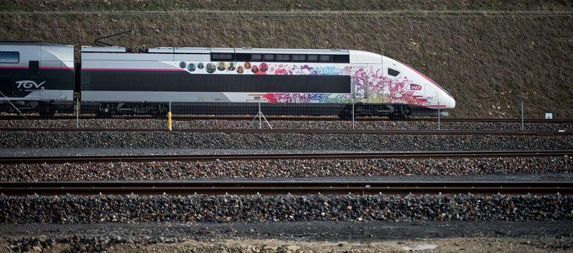 Le TGV Océane (illustration)