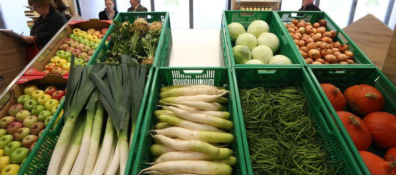 Strasbourg: Bientôt 50% de produits locaux vendus dans les restaurants et commerces du centre? (Illustration)